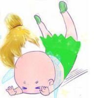重口味卡通手绘微信头像 天哪噜白雪公主头发摔没了图片