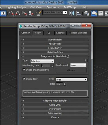 vray for 3dmax2015 vray渲染器 下载